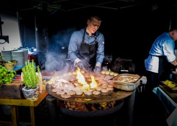 Street Food Catering Grill